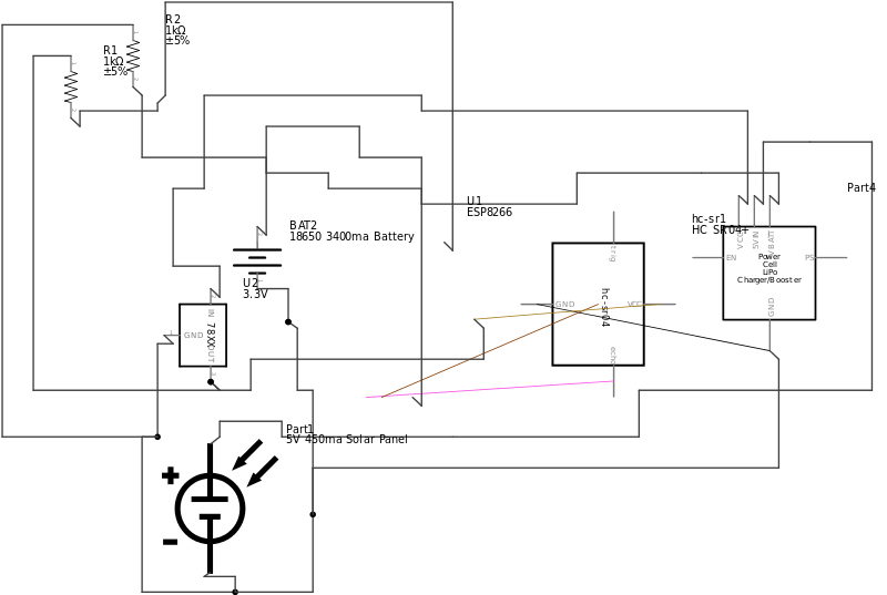 Sensor Module Connections Diagram